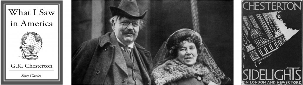 The Chestertons (January, 1921)
